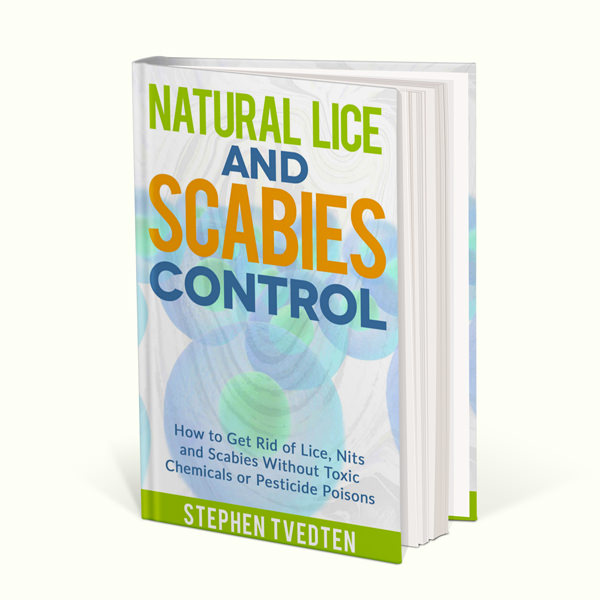 natural lice and sabies control book by stephen tvedten