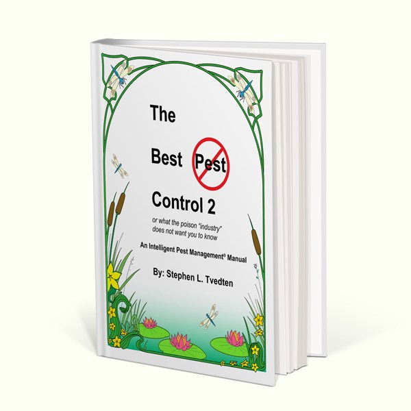 the best pest control book by stephen tvedten