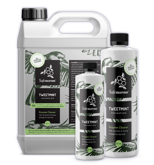 tweetmint line of cleaning products